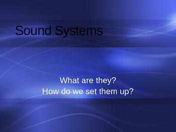 Introduction to Sound Powerpoint