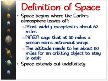 Introduction to Space Environment: illustrated Student Guided Notes, Worksheet