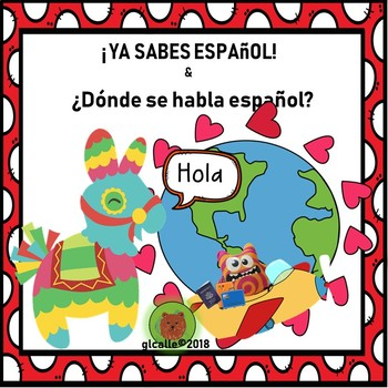 Introduction to Spanish.  Ya sabes espanol & Where is Spanish spoken?
