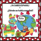 Introduction to Spanish.  Ya sabes espanol & Where is Span