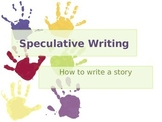 Introduction to Speculative/ Narrative Writing
