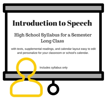 Introduction to Speech Syllabus