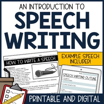 Speech Writing Lesson - Public Speaking