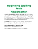 Completed Pack: Introduction to Spelling Tests
