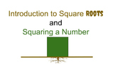 """Introduction to Square Roots and """"Squaring"""" a Number (8.EE.A.2)"""