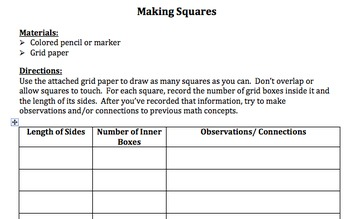 "Introduction to Square Roots and ""Squaring"" a Number (8.EE.A.2)"