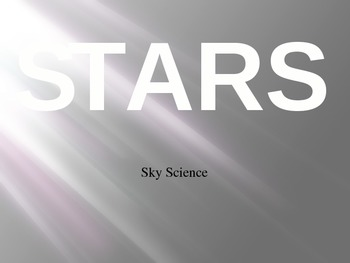 Introduction to Stars