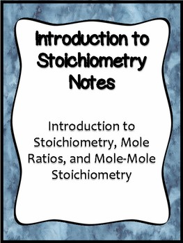 Introduction to Stoichiometry Notes