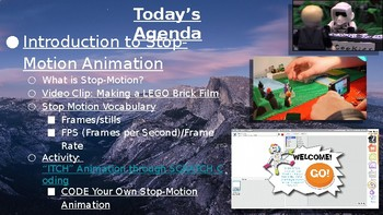 Introduction to Stop Motion Animation & Stop-Motion Coding Activity