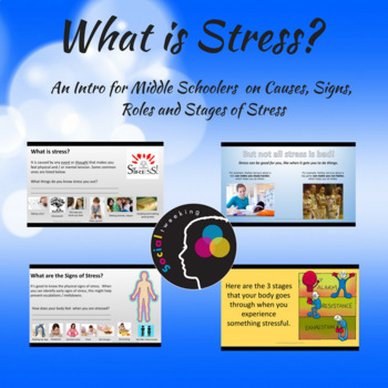 Introduction to Stress for Middle Schoolers; CBT; Emotiona