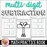 Multi-Digit Subtraction Practice Book