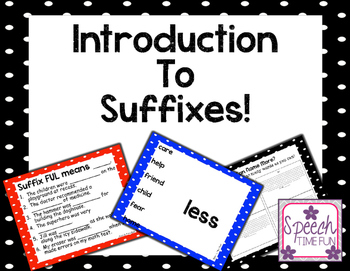 Introduction to Suffixes!