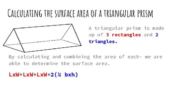 Introduction to Surface Area and Volume