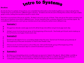 Snaps, Streaks and Miles - Intro to Systems