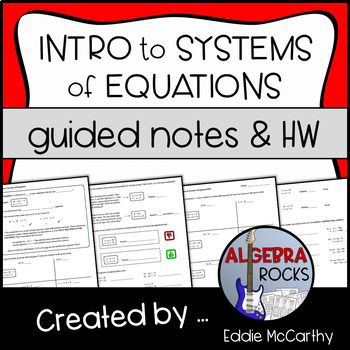 Introduction to Systems of Equations (Guided Notes and Assessment)