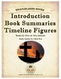 An Introduction to TRAILBLAZER Books, Summaries, Timeline Figures