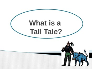 Introduction to Tall Tales PowerPoint Presentation and Que