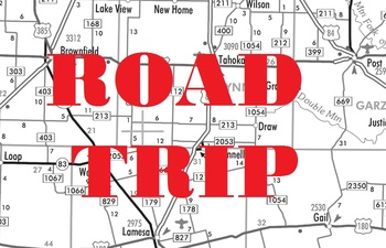 Introduction to Taxicab Geometry - Road Trip Worksheet
