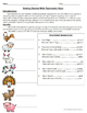 Introduction to Taxonomic Keys with Farm Animals