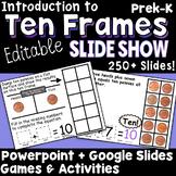 Ten Frames Editable Powerpoint Slide Show