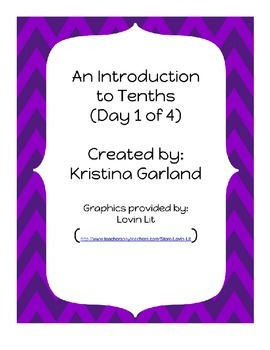 Decimals: What are Tenths?