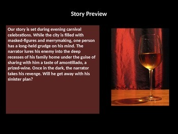 Introduction to The Cask of Amontillado by Edgar Allan Poe