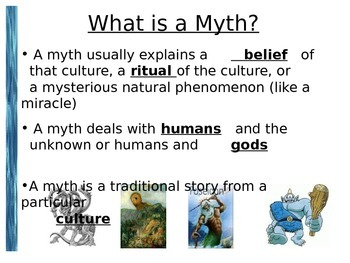 Introduction to The Odyssey - Teacher and Student Version PowerPoint