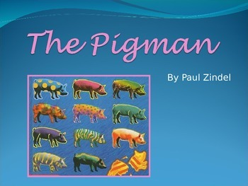 Introduction to The Pigman