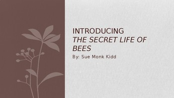 Introduction to The Secret Life of Bees