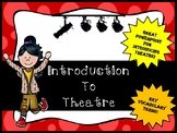 Introduction to Theatre Powerpoint Lesson
