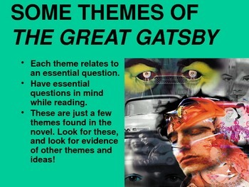 Introduction to Themes in The Great Gatsby