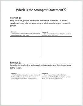Introduction to Thesis Statements & Topic Sentences