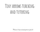 Introduction to Tiny Arrows Teaching and Tutoring