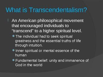 Introduction to Transcendentalism