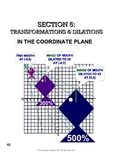Introduction to Transformations in the Cartesian Coordinate Plane