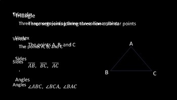 Introduction to Triangles - PowerPoint Lesson (3.4)