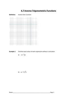 Introduction to Trigonometry Lesson 6 of 7