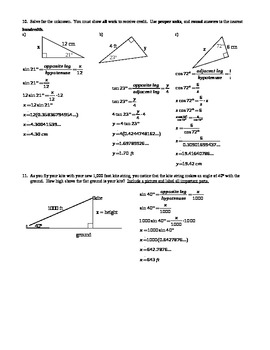 introduction to trigonometry worksheet with answer key editable. Black Bedroom Furniture Sets. Home Design Ideas