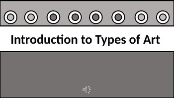 Introduction to Types of Art