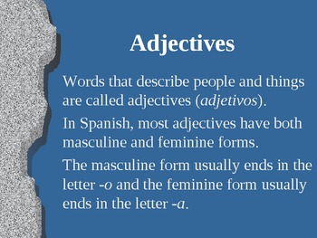 Introduction to Using Adjective