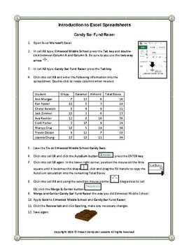 Introduction to Using Microsoft Excel