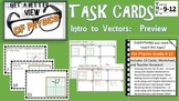 Physics Task Cards Introduction to Vectors