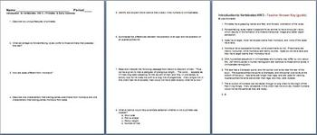 Introduction to Vertebrates Primates Early Hominids Homework 3