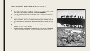Introduction to War Poetry