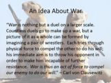 Introduction to War Theory Lessons