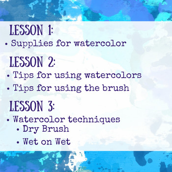 Introduction to Watercolor