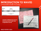 Introduction to Waves One Page Brochure Foldable for Inter