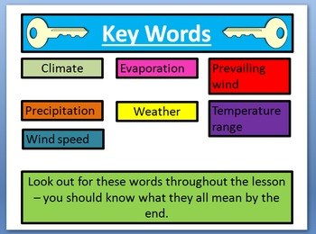 Introduction to Weather - Geography/Science