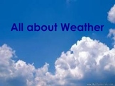 Introduction to Weather- Pre-K, K