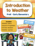 Introduction to Weather - PreK and Early Elementary